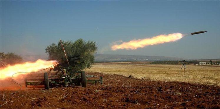 انطلاق صاروخ - ارشيف